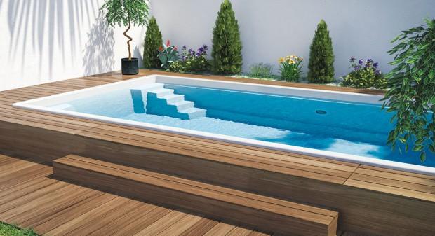 5 rad před koupí bazénu