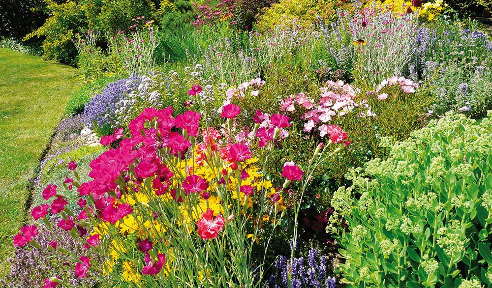 Rozkvetlá zahrada jako trend