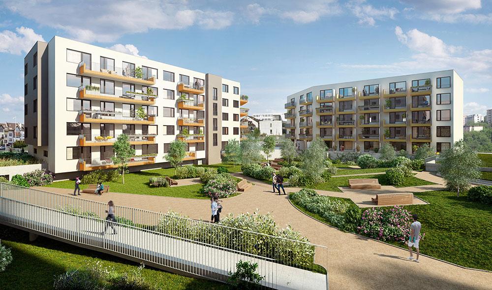 Nové rodinné bydlení v Praze 4 – Modřanech