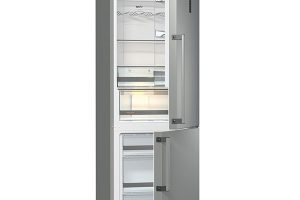Gorenje NRC6192TX, chladnička kombinovaná smrazákem, energetická třída A++, technologie IonAir, funkce SuperCool pro velké nákupy svyšší teplotou, 15 990 Kč