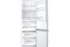 LG GBB60SWGFS, chladnička kombinovaná smrazákem, energetická třída A+++, LG lineární kompresor (záruka 10 let), expresní mrazení, Eco Friendly režim, 19 490 Kč