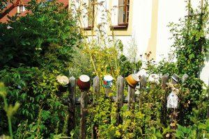 Většina zahrádkářů si venkovskou zahradu spojuje splaňkovým plotem arozkvetlou předzahrádkou. Tato představa není žádným romantickým snem – s tímto trendem se totiž opět a čím dál tím častěji setkáváme, protože se od uspěchaného života obracíme kzažitým hodnotám atradicím. FOTO LUCIE PAUKERTOVÁ