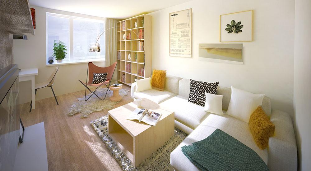 Rekonstrukce třípokojového bytu, jejímž cílem je vkusné útulné bydlení