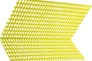 Fasáda bez trhlin. Významnou součást certifikovaných zateplovacích systémů tvoří sklotextilní síťoviny. Na jejich správném použití azabudování výrazně závisí životnost fasády jako celku. Přířezy sklotextilních síťovin se používají ijako diagonální výztuže rohů oken adveří, jemnější síťoviny se uplatní při stěrkování fasádních profilů.
