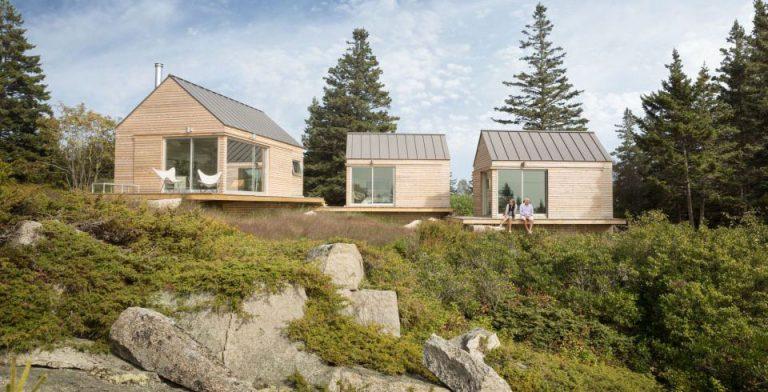 Tři malé chatky pro dokonalý relax