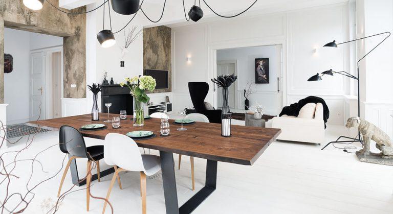 Specifická rekonstrukce, jejímž cílem bylo spojení dvou bytů v jeden
