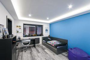 Dva dětské pokoje jsou umístěny vposchodí. FOTO Tomáš Vejrosta, Inoutic