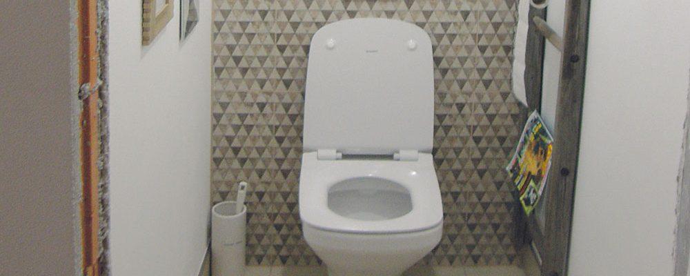 Rekonstrukce koupelny: Montáž WC má přednost