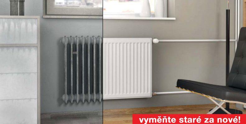 Oprašte radiátory, budete je co nevidět potřebovat!