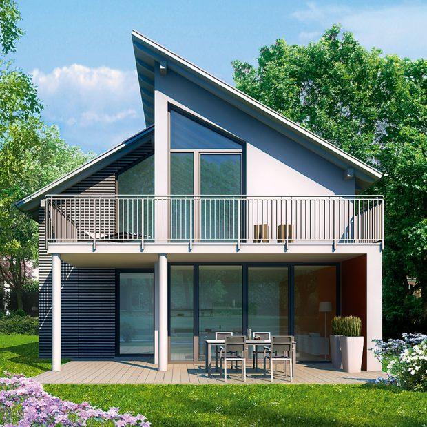 Energeticky úsporný šestikomorový systém Inoutic Eforte splňuje parametry pasivních anízkoenergetických staveb. Svestavěnou hloubkou 84 mm, standardní ocelovou výztuží abez přídavných izolačních prvků dosahuje hodnoty součinitele prostupu tepla rámem Uf = 0,95 W/(m2 . K). Standardu pasivního domu, Uw = 0,80 W/(m2 . K), lze dosáhnout za velmi příznivou cenu sobvyklým trojitým zasklením plastových oken.