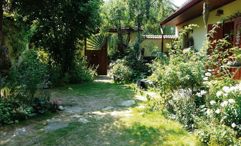 Nádech starých časů vpřírodní zahradě vPlavsku