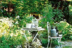 Ze zahrady na každého dýchne opravdu pohodová atmosféra, díky které se sem vracejí každý rok stejní hosté. Pokud se rozhodnete Plavsko navštívit, Gebrovi se každý rok účastní Víkendu otevřených zahrad. FOTO LUCIE PEUKERTOVÁ
