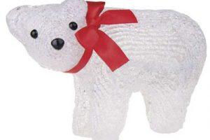 Sob či medvěd na ven i dovnitř, jejichž životnost je až 50 000 hodin, takže několik vánočních sezón.