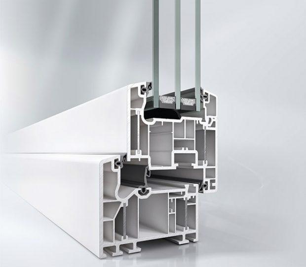 Okenní profil Schüco Alu Inside v pasivním standardu