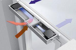 Automatická ventilační jednotka s rekuperací Schüco VentoTherm FOTO SCHÜCO CZ