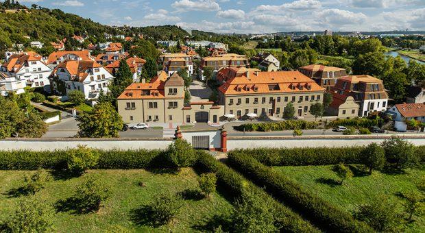 Znovuzrození Chateau Troja Residence