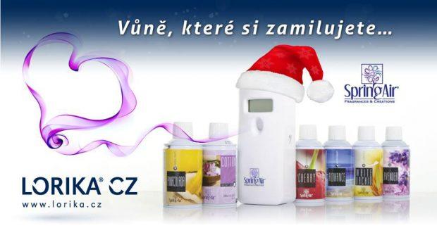 Automatický osvěžovač vzduchu Spring Air. Foto: vonavelogo.cz
