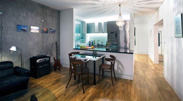 Rekonstrukce bytu v panelovém obytném domě: Maximální efekt s minimálním zásahem
