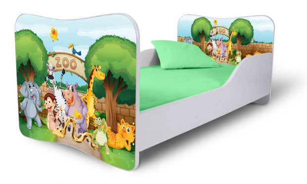 Dětské postele s různými obrázkovými motivy jsou trendem. Foto: MT-nábytek.cz