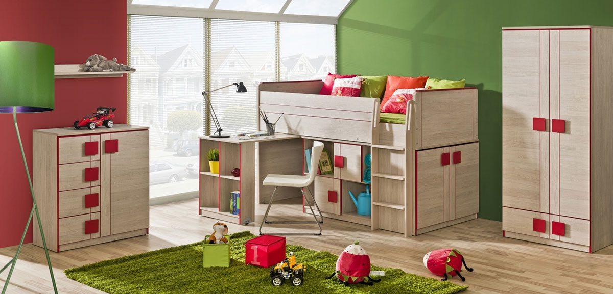 Vybíráte postel pro děti? Myslete zvlášť na kluky a na holky