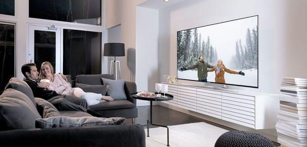 Užijte si vánoční pohodu se špičkovými televizory Samsung