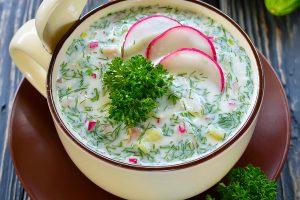Ledové polévky – osvěžující, rychlé a extrémně zdravé