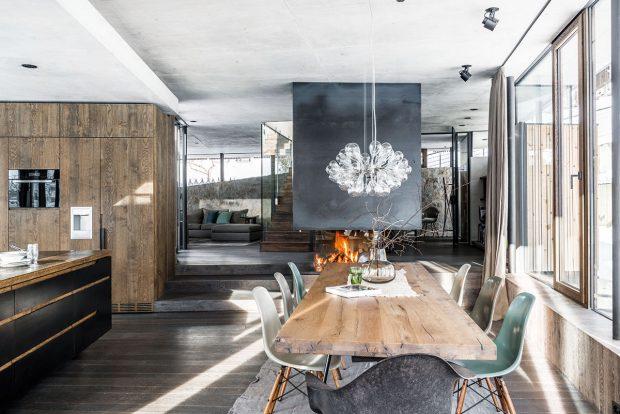 Při návrhu interiéru měla architektka volnou ruku. FOTO CHRISTIAN SCHAULIN