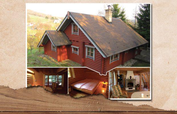 Hlasujte pro dřevěné stavby a vyhrajte pobyt ve srubu