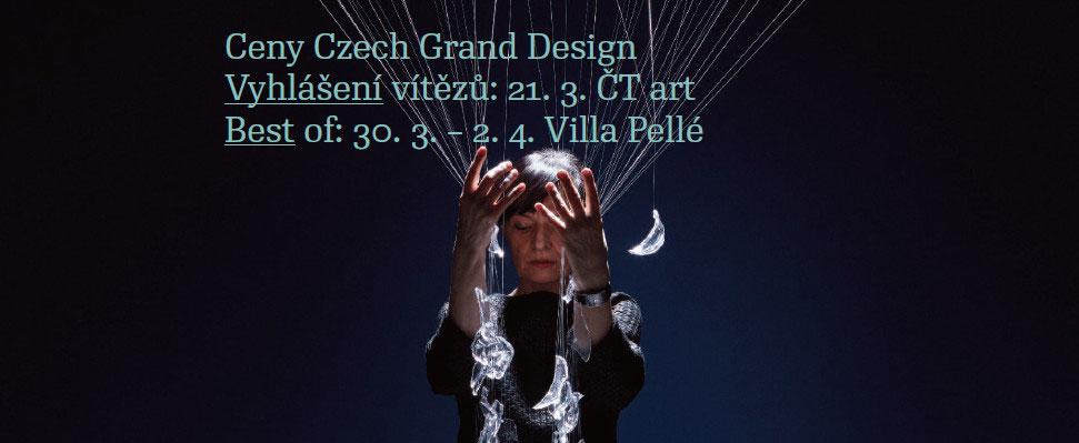 Ceny Czech Grand Design odtajnily finalisty, představí je festival Best of ve Ville Pellé
