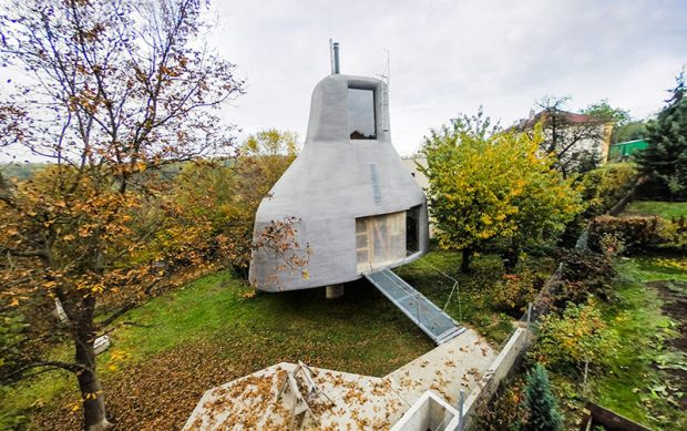 Futuristický dům, jaký jste ještě určitě neviděli!