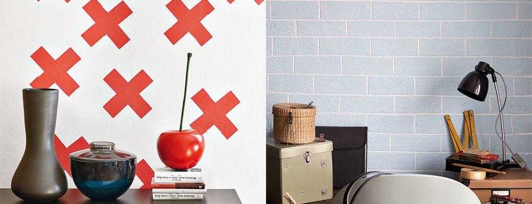 Dodejte interiéru moderní šmrnc netradiční úpravou stěn
