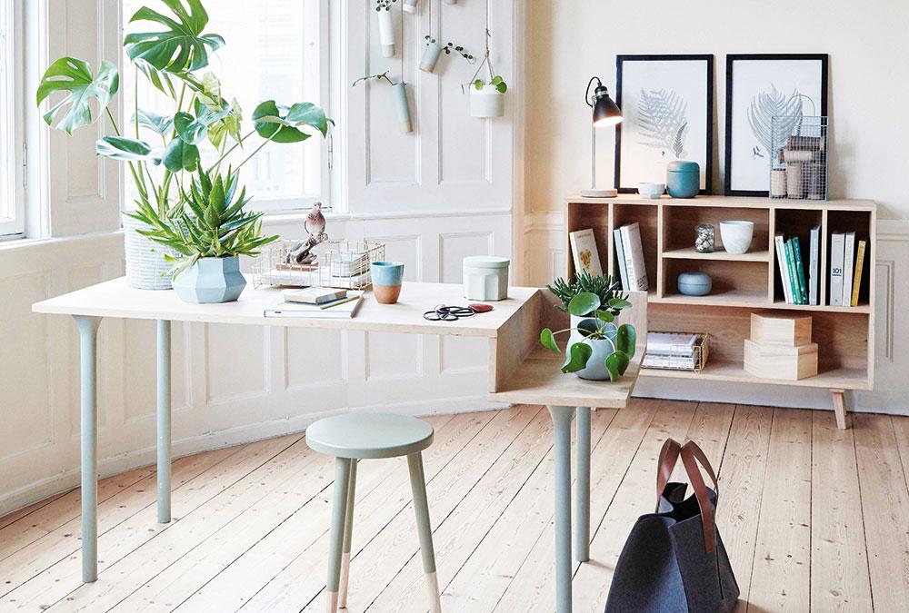 Moderní bydlení dotvořené zelení