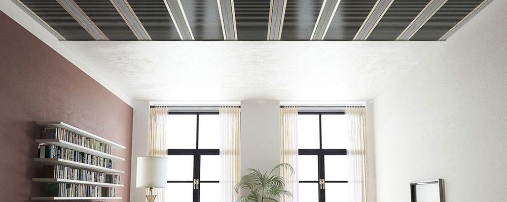 Stropní folie ECOFILM jsou řešením pro vytápění úsporných domů