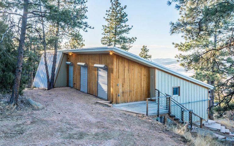 Pasivní domek v horách bez energeticky náročných materiálů