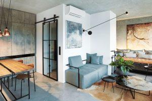 Celý interiér architektka promýšlela do sebemenších detailů adekorací od návrhu polštářů až po výběr zeleně, povlečení nebo ručníků. foto Jakub Skokan a Martin Tůma z BoysPlayNice