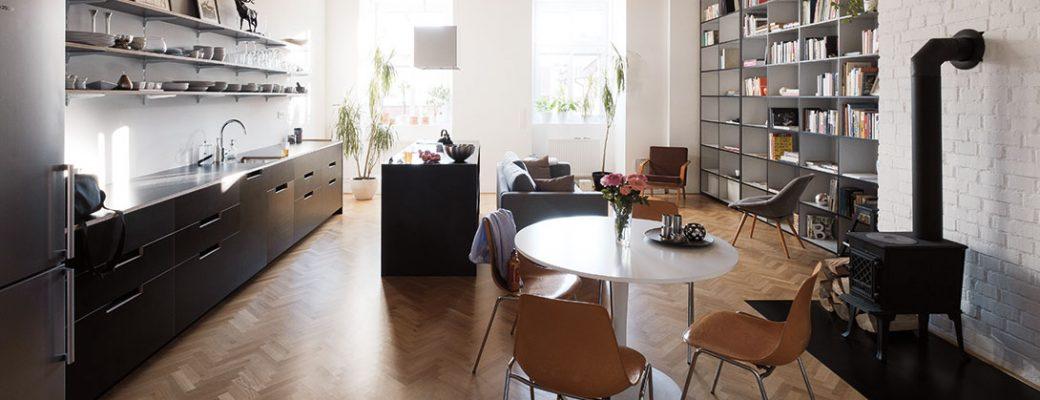 Dokonalá rekonstrukční očista bytu pro mladý pár. Výsledek je fascinující!