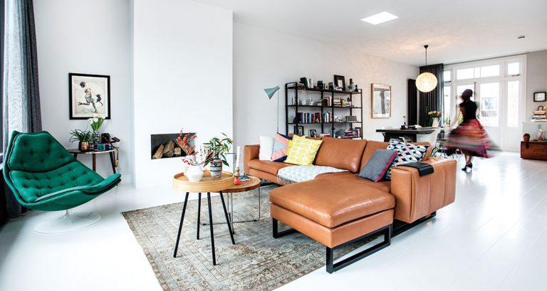 Interiér plný originality: Osobitý styl a kombinace moderních i starých vecí