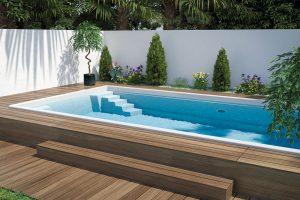 Keramické bazény řady Excelence jsou trvanlivé aodolné. FOTO MOUNTFIELD