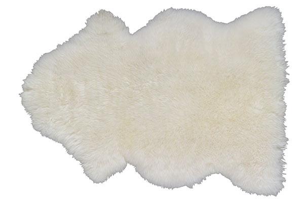 OVČÍ KŮŽE LUDD, bílá, 80 x 45 cm, 899 Kč, IKEA