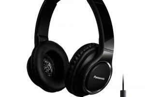 Sluchátka Panasonic HD6, tlumicí systém Anti-vibration Frame pro minimalizaci šumu, mikrofon, ovladatelné chytrým telefonem, možnost úpravy sluchátek nahoru, dolů ado stran, frekvenční rozsah 4 Hz – 40 kHz, 2 669 Kč.