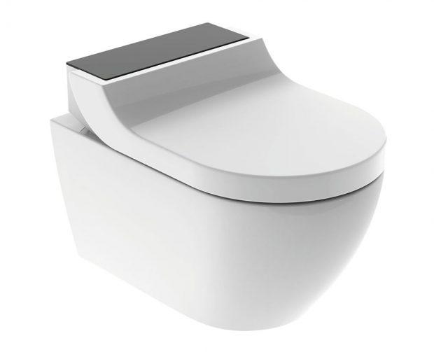 Optimální využití prostoru. Toaleta Geberit AquaClean Tuma dokáže chytře využít i stísněný prostor a její instalace nevyžaduje provedení žádných náročných stavebních úprav. zdroj Geberit
