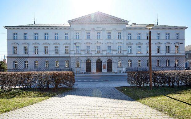 Obnova vnějšího pláště budovy Okresního soudu v Opavě