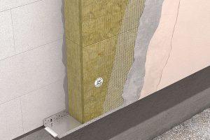 Systém pro izolaci vnějších obvodových stěn ECOROCK FF se skládá z kamenné vlny a dalších komponent systémového řešení. Zateplení pomocí kontaktních zateplovacích systémů (ETICS) musí být provedeno vždy z certifikovaných prvků v rámci jednoho zateplovacího systému. FOTO ROCKWOOL