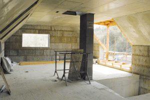 Odbedněná konstrukce střechy Foto ROBERT COUFAL
