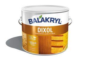 Rychleschnoucí vodou ředitelná tenkovrstvá lazuraBalakryl Dixol se hodí nátěrům všech druhů dřeva adřevěných prvků vinteriéru iexteriéru. Lazura poskytuje hloubkovou ochranu idekorační vzhled.