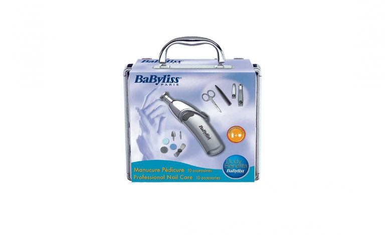BaByliss 8480E: Klíč k dokonalému nehtům máte v kufříku