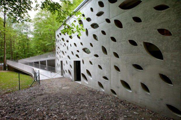 Stěny z pohledového betonu získávají na oblibě. zdroj: Českomoravský beton