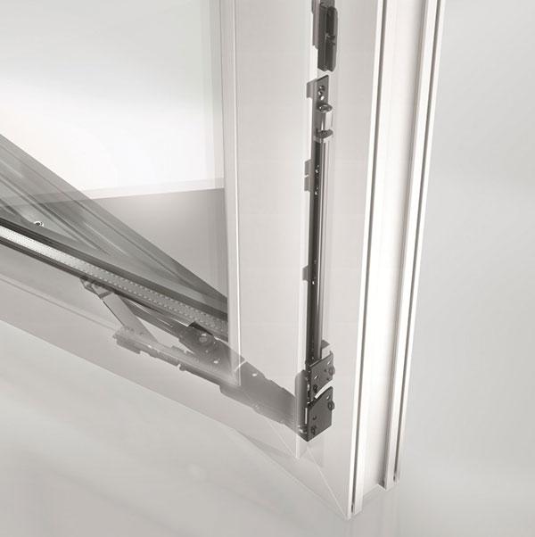 Okenní kování Schüco VarioTec-NI pro plastová okna ZDROJ Schuco CZ