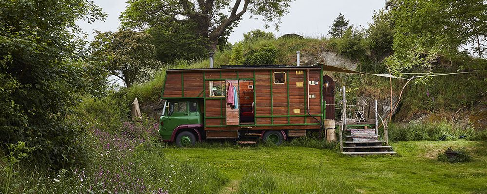 Z přepravního boxu pro koně stylové bydlení!