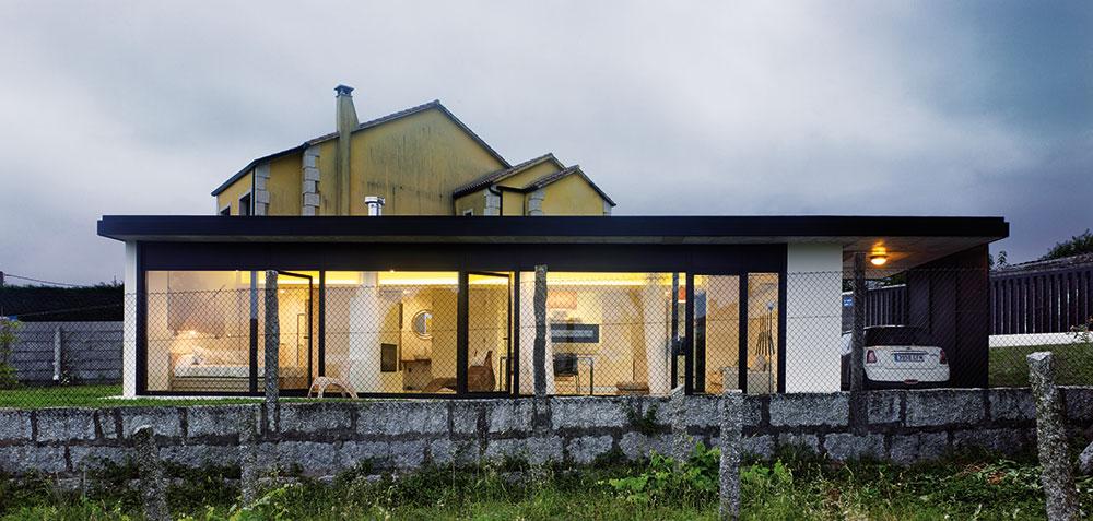 Ekonomicky fungující moderní dům ideální k pronájmu